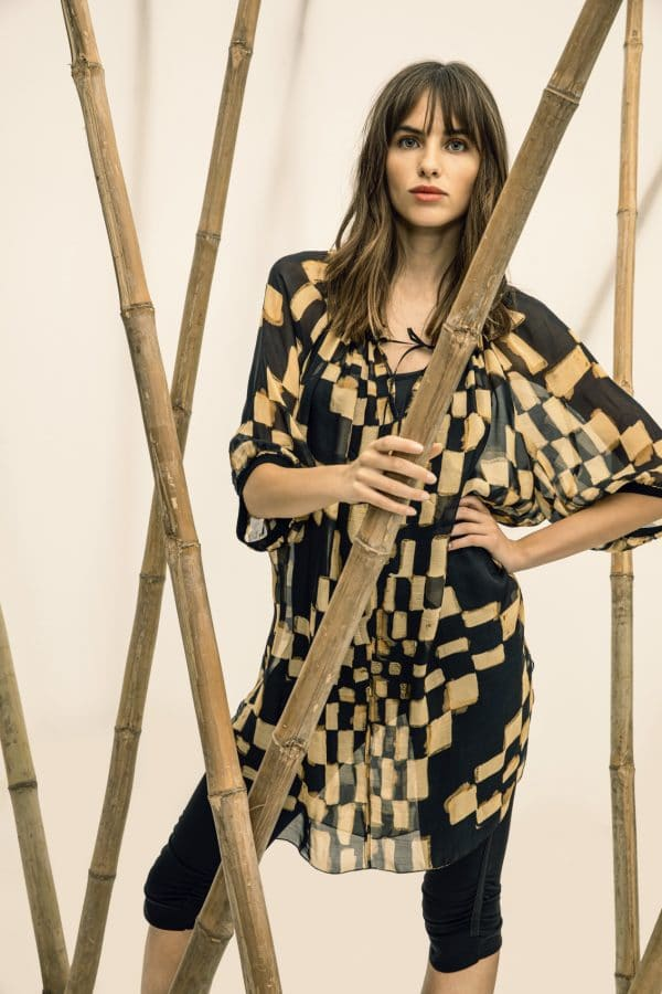 Beate Heymann silk tunic dress