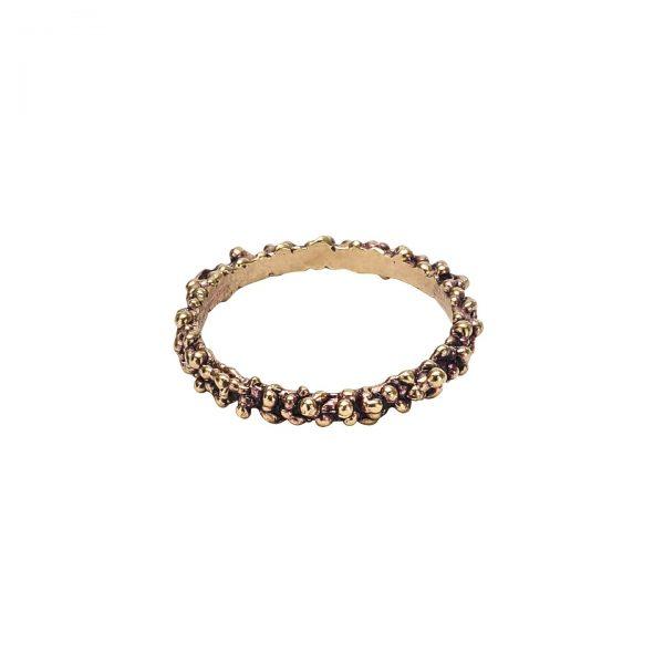 violet brass ring