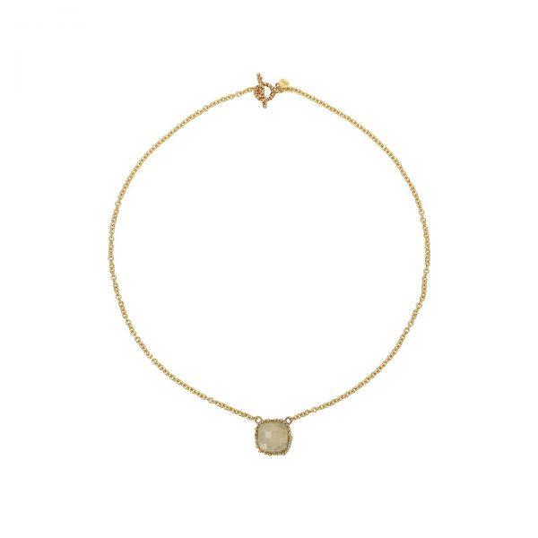short jade necklace