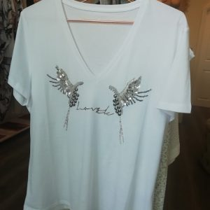 sequined t shirt
