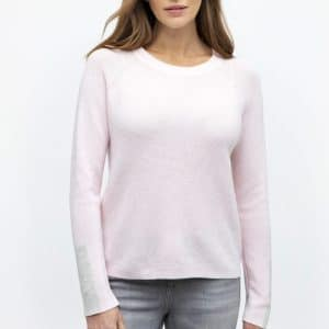 cotton and cashmere top