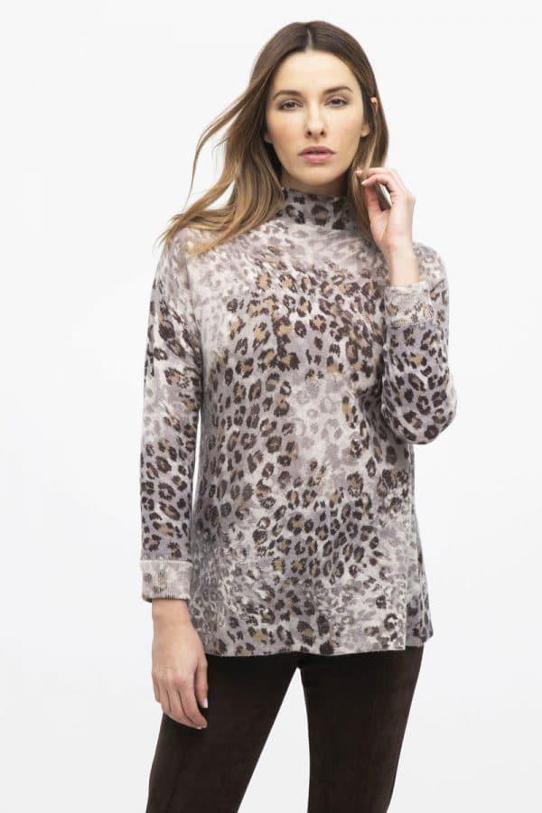Animal Print Cashmere